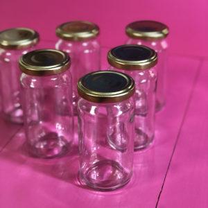 Extra glasburk med lock, till vittringsstation
